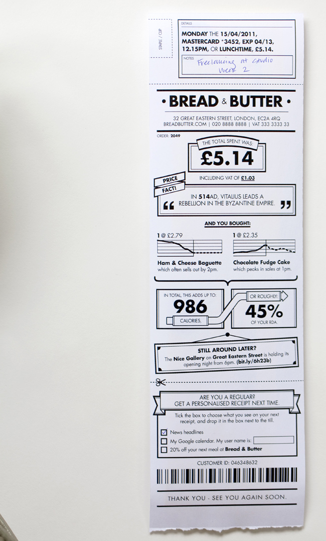 personalized receipts robot monkeys