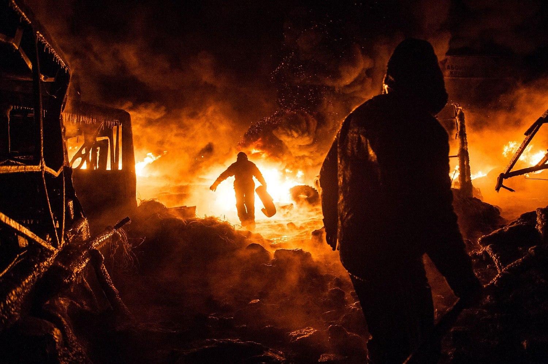 scenes for the revolution ukraine robot monkeys